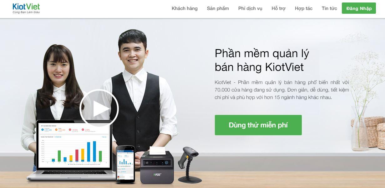 Phần mềm quản lý bán hàng Kiot Việt