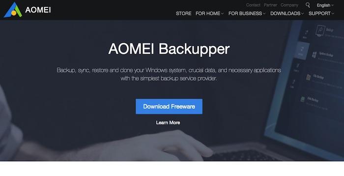 Aomei Backup