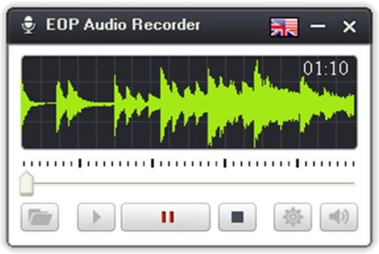 phần mềm ghi âm máy tính Eop Audio Recorder