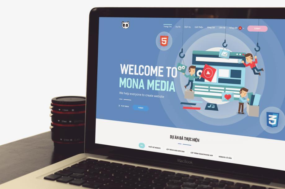 Công ty thiết kế phần mềm theo yêu cầu Mona Media