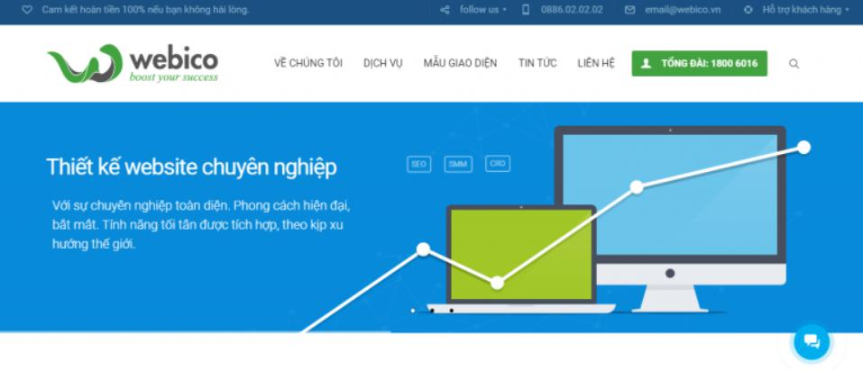 Viết phần mềm theo yêu cầu Webico